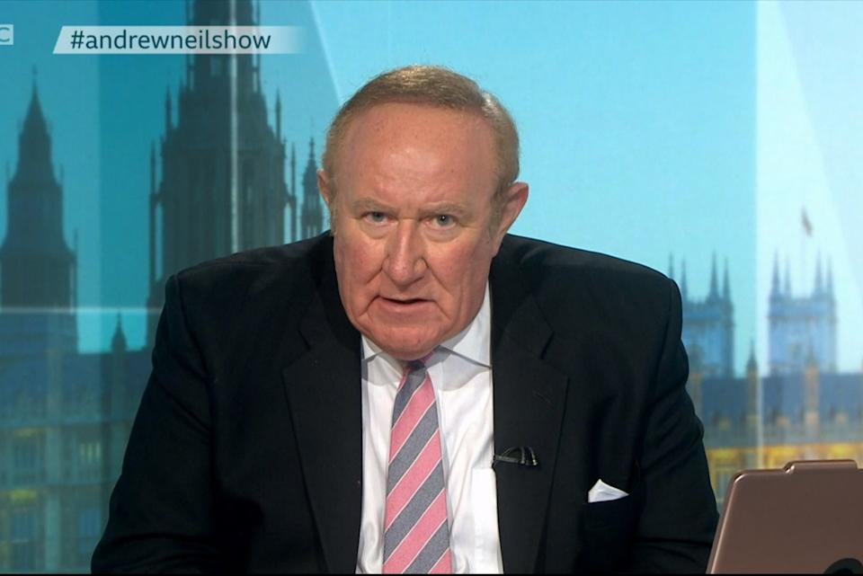 Andrew Neil: GB News chairman and presenterBBC