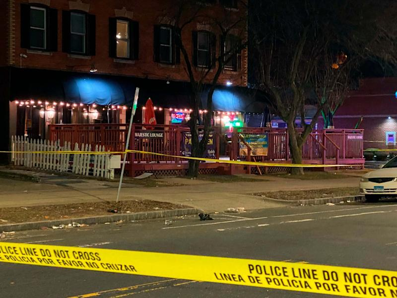 There are multiple victims after a shooting at Majestic Lounge in Hartford, Connecticut, police say: AP