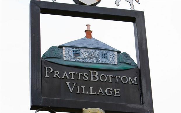 <p>The village of Pratts Bottom in Kent had Britain laughing.</p>