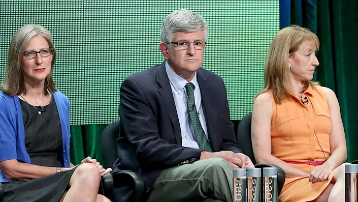 Amy Middleman, Paul Offit, and Alison Singer