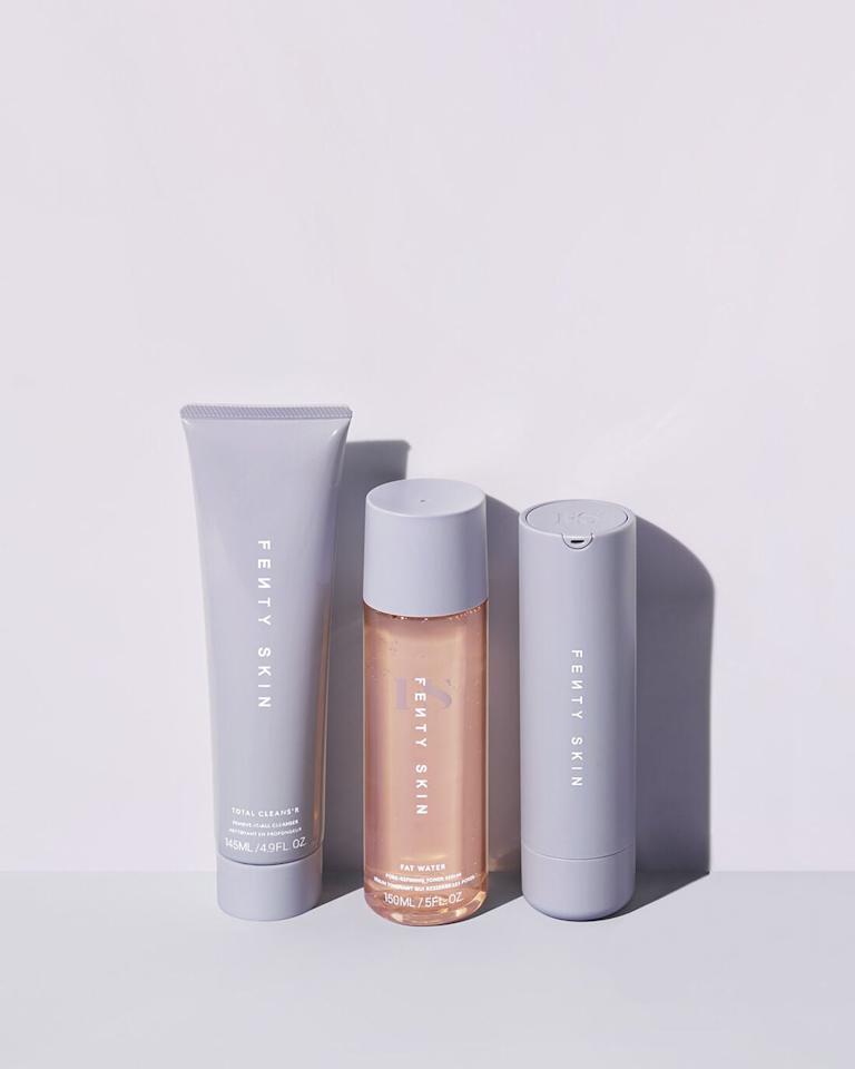 "<p>They'll be so excited to receive this <product href=""https://www.fentybeauty.com/fenty-skin-startrs/fenty-skin-startrs.html"" target=""_blank"" class=""ga-track"" data-ga-category=""Related"" data-ga-label=""https://www.fentybeauty.com/fenty-skin-startrs/fenty-skin-startrs.html"" data-ga-action=""In-Line Links"">Fenty Beauty Skin Start'rs</product> ($75) set of <a class=""sugar-inline-link ga-track"" title=""Latest photos and news for Rihanna"" href=""https://www.popsugar.com/Rihanna"" target=""_blank"" data-ga-category=""Related"" data-ga-label=""https://www.popsugar.com/Rihanna"" data-ga-action=""&lt;-related-&gt; Links"">Rihanna</a>'s newest launch, skin care. It's already an editor favorite.</p>"