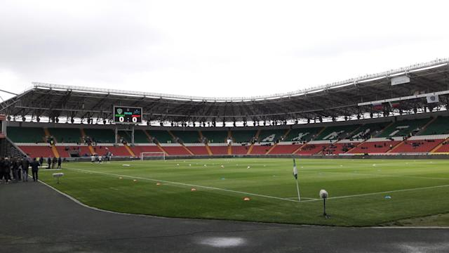 Estádio do Akhmat Grozny, time checheno (Fábio Paine)
