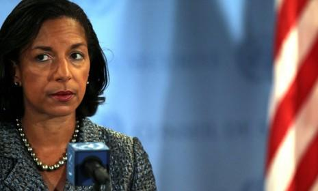 Susan Rice is rumored to be the president's preferred candidate to replace Hillary Clinton as secretary of state.