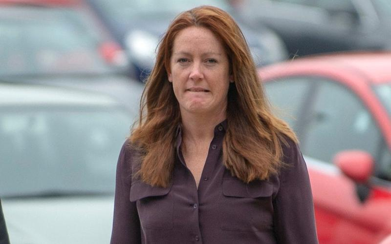 Lady Tamara van Cutsem arriving at Wrexham Magistrates court for a driving offence - © Andrew Price 07774611778