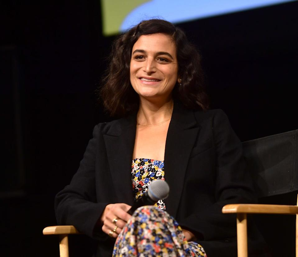 Jenny Slate speaks at a Netflix event on April 20 in Hollywood. (Photo: Matt Winkelmeyer/Getty Images for Netflix)
