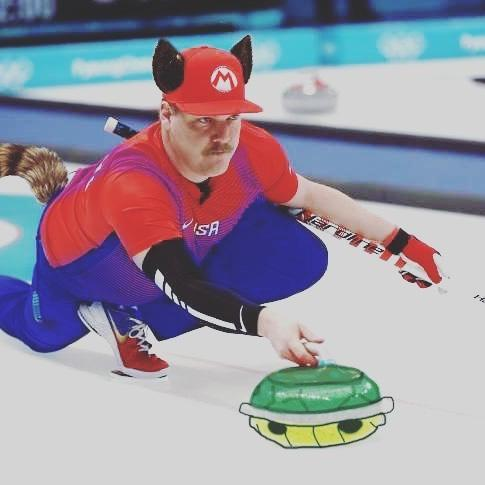 <p>Matt Hamilton USA, curling: Getting ready for China tonight! We're excited and reinvigorated to show the world we are not a 1-3 team. Go #teamusa !! Let's GO #hamfam !!@heccabamilton #curling (Photo via Instagram/hamscurl) </p>
