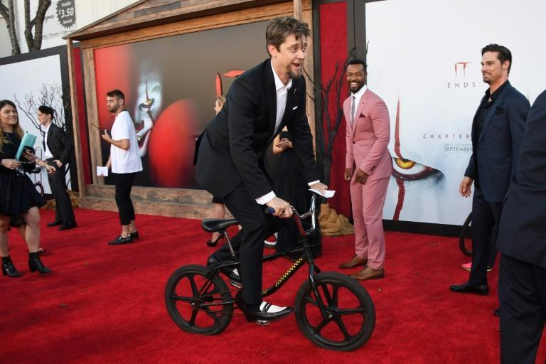 """Director Andy Muschietti says """"It: Chapter 2"""" is """"a movie that is connected to the times that we live in"""" (AFP Photo/Robyn Beck)"""