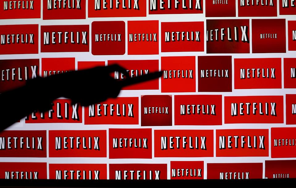 The Netflix logo is shown in this illustration photograph in Encinitas, California October 14, 2014. REUTERS/Mike Blake/File Photo