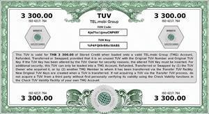 A TUV for 3 300 Thai Baht - equivalent to approximately USD 100. The Thai Baht is one of the Currencies for which the TUV is used by Migrant Workers for remitting funds home as a substitute to legacy-system transfer or remittances services