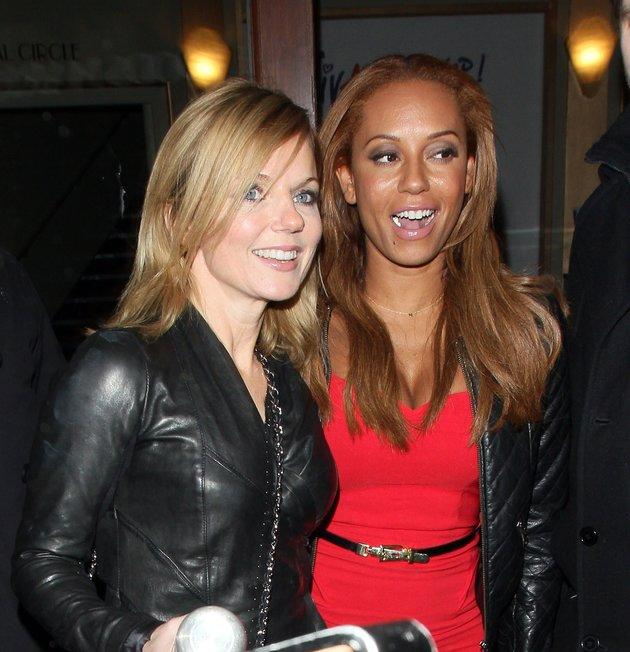 Geri Horner and Mel B, pictured in 2013