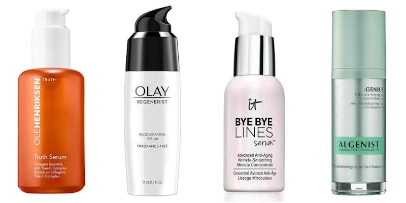 Photo credit: Olehenriksen/Olay/It Cosmetics/Algenist