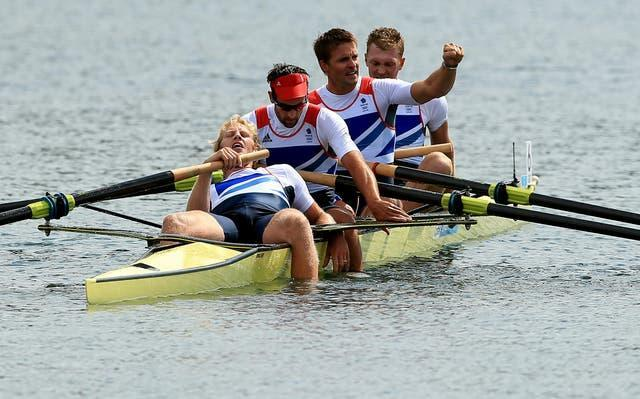Great Britain celebrate another win in London