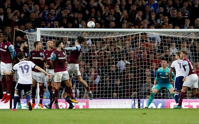Steve Bruce targets promotion No 5 after leading Aston Villa to play-off final after tense night against Boro