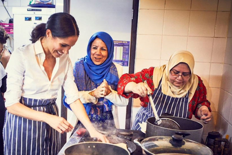 Meghan Markle Supporting A Community Kitchen is Winning Hearts On The Internet