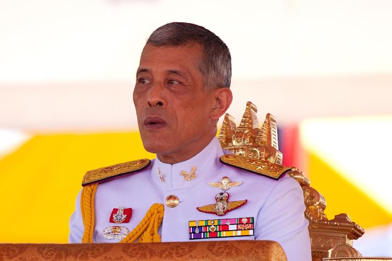 For the majority of Thais Maha Vajiralongkorn's elaborate three-day coronation will be the first they have witnessed and curiosity is mounting (AFP Photo/Panupong CHANGCHAI)