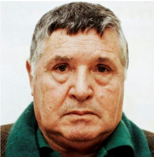 """Toto Riina, nicknamed """"The Beast"""", is thought to have ordered more than 150 murders"""