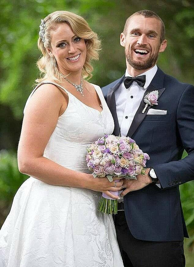 Clare starred in the second season of MAFS. Photo: Channel Nine