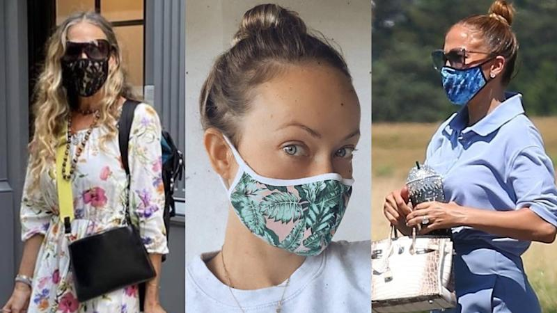 Celebrities love this women of color-owned mask brand. (Photos: MasQd via Instagram)