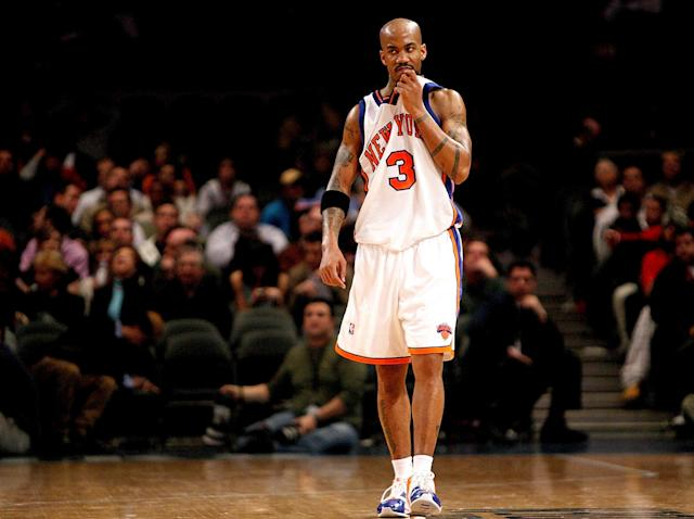 After signing a massive extension in New York, Stephon Marbury resurrected his career in his 30s ... in China. (Getty Images)
