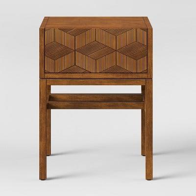 <p>This <span>Tachuri Geometric Front Accent Table</span> ($100) will be a stunning addition to your eclectic decor.</p>