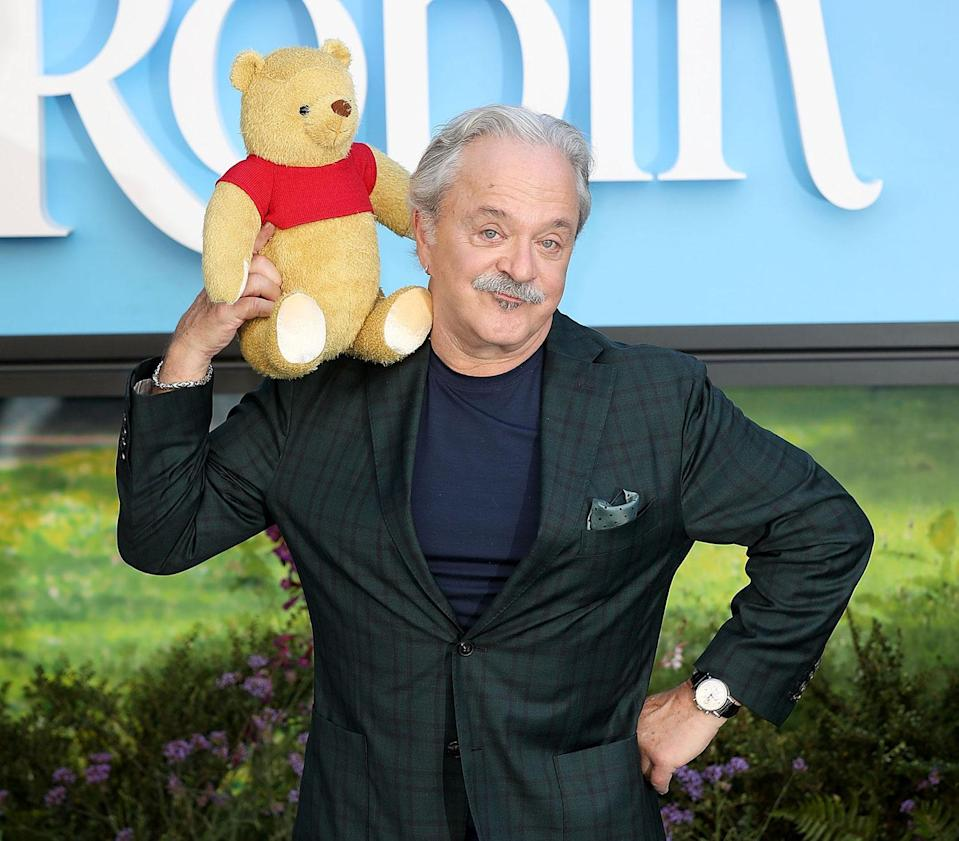 Jim Cummings, the voice of Pooh Bear at the <i>Christopher Robin</i>European premiere (Disney)