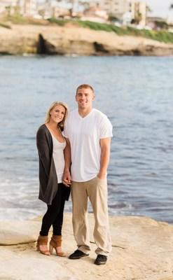 Zach and Julie Ertz, Founders of the 'City of Love Fund' and Ertz Family Foundation. Photo courtesy of Ertz Family Foundation.
