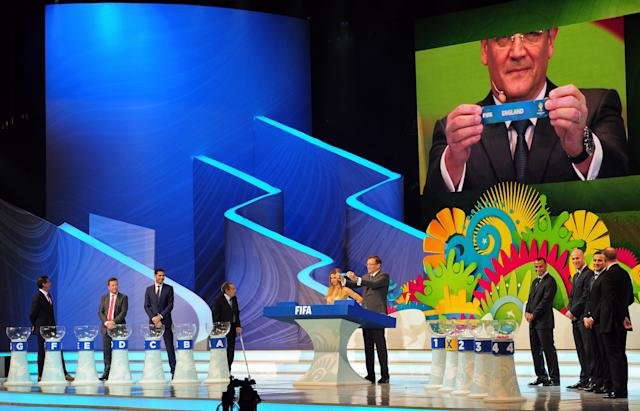The procedures for the 2018 World Cup Draw will be slightly different than those for the 2014 draw. (Getty)