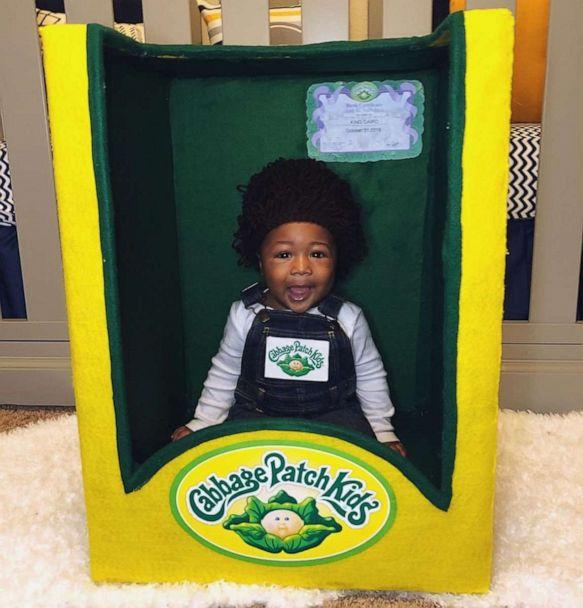 PHOTO: Cairo dressed up as a Cabbage Patch Kid for his finale costume. (Courtesy Erica Allen)