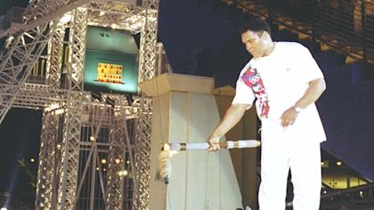 Muhammad Ali surprised everyone with his appearance at the 1996 Summer Olympics in Atlanta.