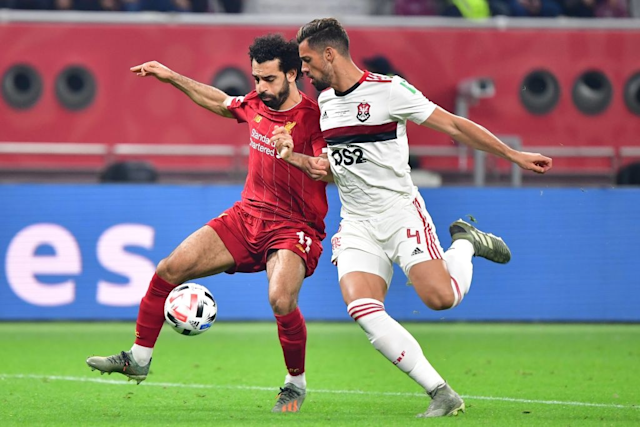 Mohamed Salah Liverpool Flamengo Club World Cup 2019