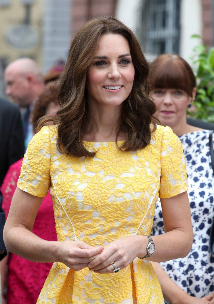 Kate Middleton has been dubbed the new Princess Diana by German media.