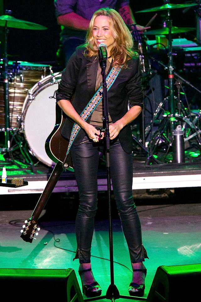 "Singer-songwriter Sheryl Crow is a breast cancer survivor who frequently performs at benefits to fight the disease. In fact, she's so passionate about the cause that two years ago, Crow opened the   Sheryl Crow Imaging Center, a state of the art digital screening and diagnostic imaging center located inside the <a href=""http://www.pinklotusbreastcenter.com"" target=""new"">Pink Lotus Breast   Center</a> in L.A. so that women can detect and treat it as early as possible. (7/25/2012)"