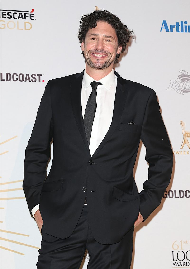 A photo of Colin Fassnidge at the 61st Annual TV WEEK Logie Awards at The Star Gold Coast on June 30, 2019 on the Gold Coast, Australia.