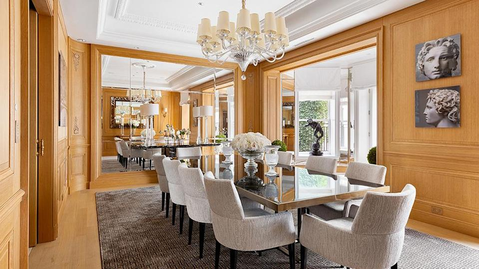 The dining room - Credit: Photo: Courtesy of The Corcoran Group