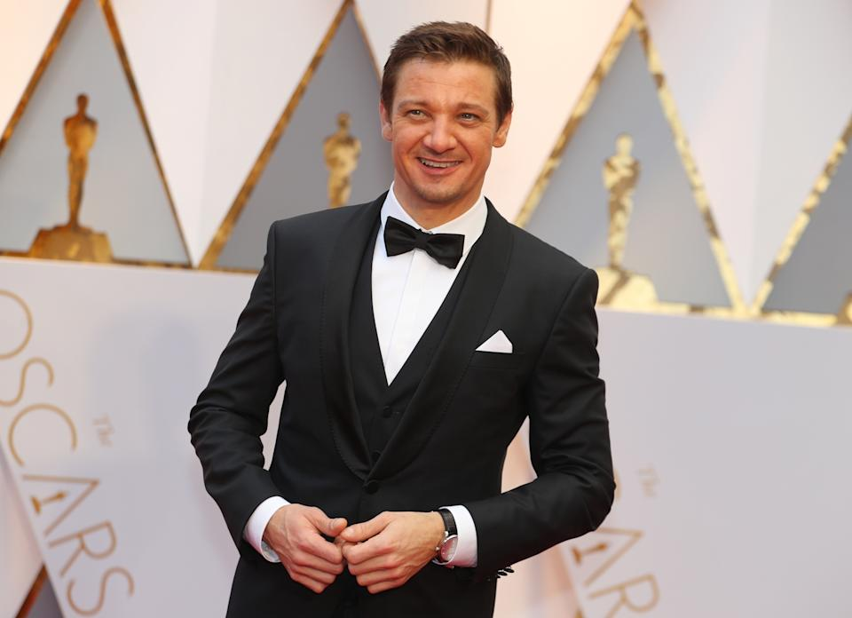 89th Academy Awards - Oscars Red Carpet Arrivals - Hollywood, California, U.S. - 26/02/17 - Actor Jeremy Renner. REUTERS/Mike Blake