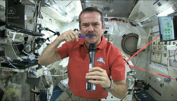 How to Brush Your Teeth in Space (Video)