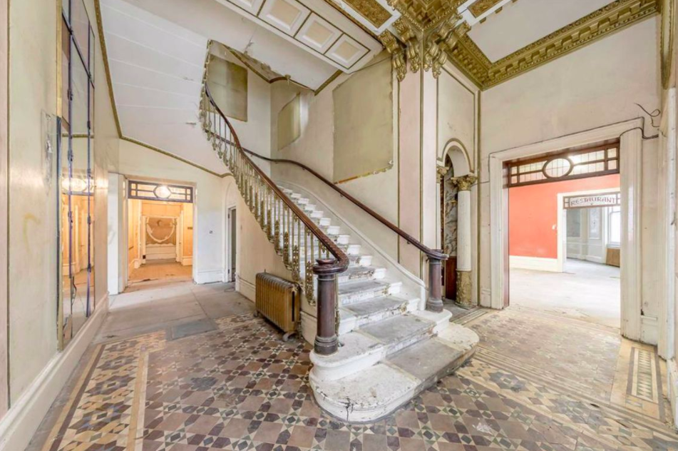 The grand entrance hall. Photo Dexter