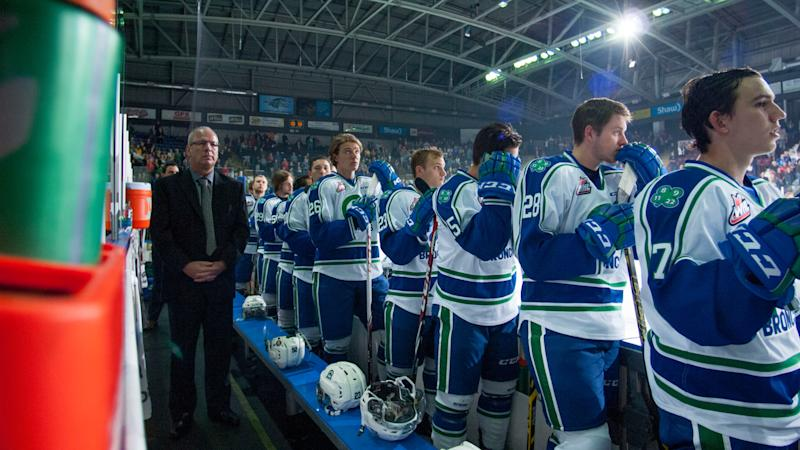 The Western Hockey League's Swift Current Broncos have released their Head Athletic Trainer and Equipment Manager, Jamie LeBlanc, after demeaning and derogatory comments. (Photo by Marissa Baecker/Getty Images)