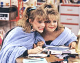 """<p>Did you ever have a friend growing up who was annoying as could be, but you were still friends with them anyway because it would have been harder to break up with them then to continue being friends? I did. That's why Kimmy Gibbler and DJ Tanner are the epitome of #FriendshipGoals in my teenage diary. Everyone has a """"Kimmy"""" in her life, but it was DJ who taught us to not give a damn what anybody else thinks, and who loved her like a sister. Now, let's cue one big collective """"awe."""" –Jen Kucsak <br>(Credit: ABC/Getty Images)</p>"""