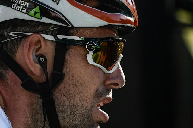 Mark Cavendish missed the time cut on the 11th stage to fall out of this year's Tour de France (AFP Photo/Philippe LOPEZ)