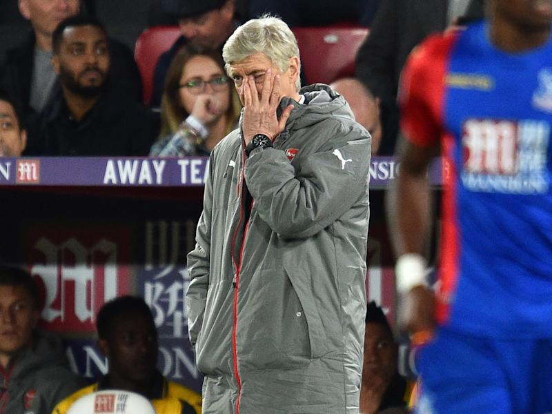Arsene Wenger's time at Arsenal is up - do the club have the nerve to tell him?: Getty