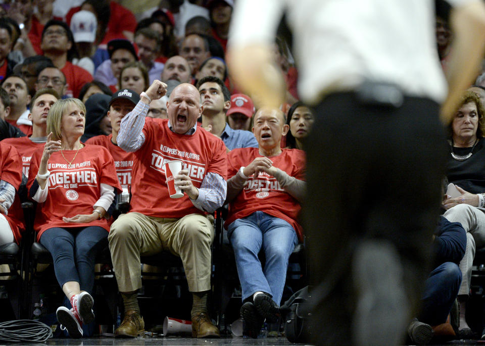Steve Ballmer's foundation will donate $1 million to Los Angeles-area groups to help during the coronavirus outbreak.