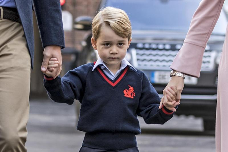 Prince George will take ballet lessons this year. (Getty Images)