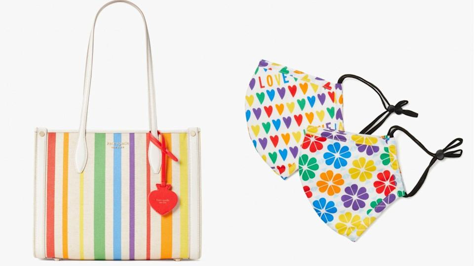 Kate Spade is donating 20% of the profits from this collection to The Trevor Project.