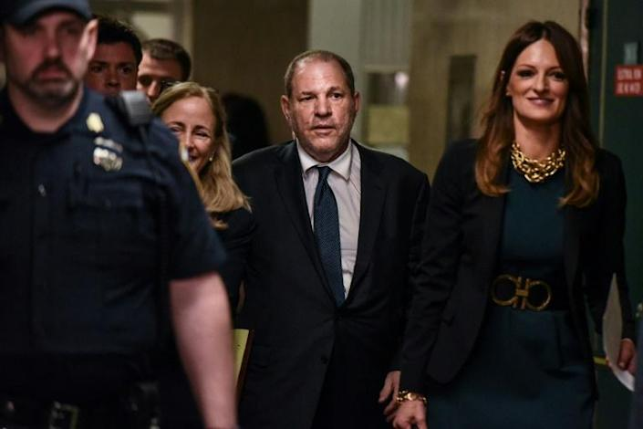 Harvey Weinstein enters the courthouse on July 11, 2019 in New York City (AFP Photo/STEPHANIE KEITH)