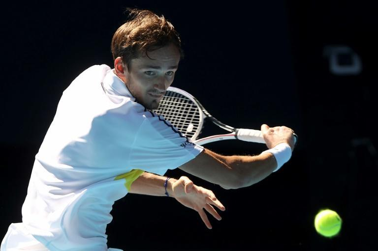 Daniil Medvedev, is unbeaten in 19 matches and not boring any more according to semi-final opponent Stefanos Tsitsipas