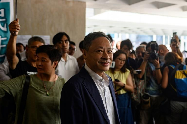 Benny Tai has previously been jailed for his democracy campaigning