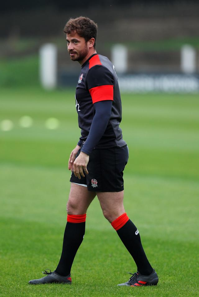 Rugby Union - England Training - Pennyhill Park, Bagshot, Britain - May 24, 2018 England's Danny Cipriani during training Action Images via Reuters/Andrew Couldridge