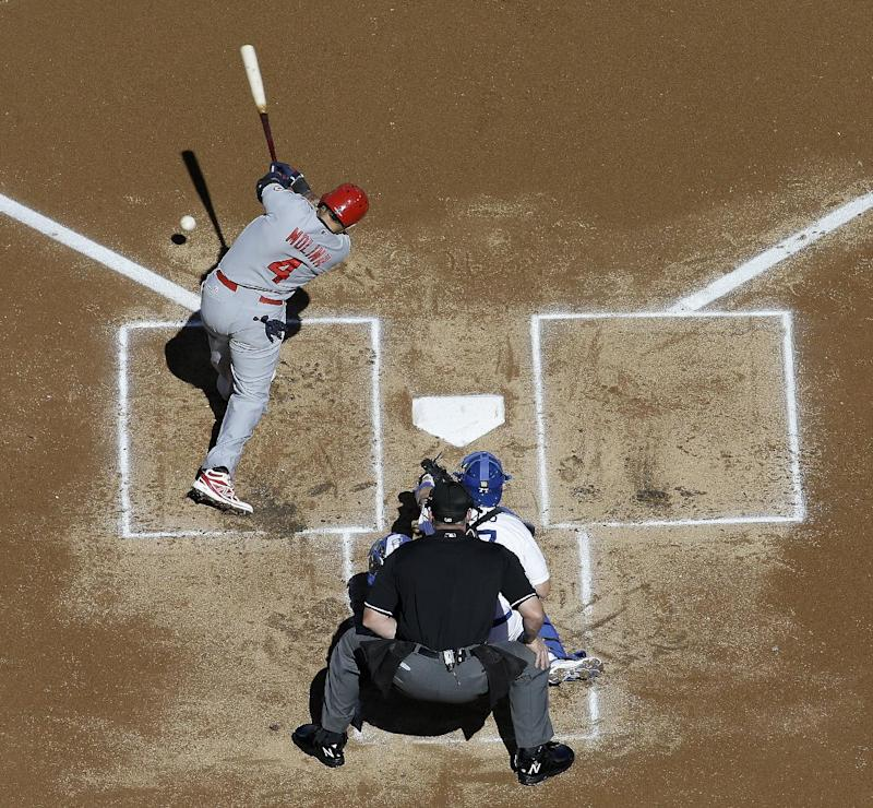 Yadier Molina looking for 4th trip to World Series