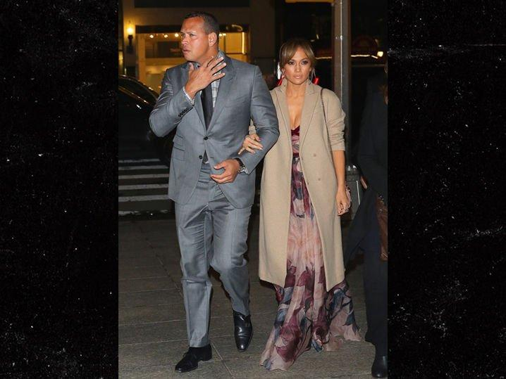 Alex Rodriguez and Jennifer Lopez went to dinner on Mother's Day evening. (TMZ)
